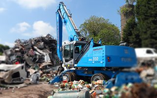 We provide site clearances for businesses in and around Stoke on Trent